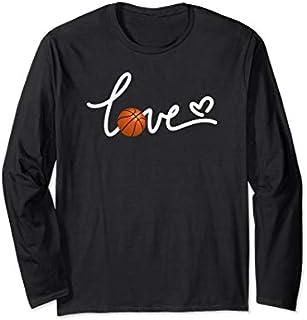 Birthday Gift I Love Basketball - Basketball Mom Life  Long Sleeve/Shirt