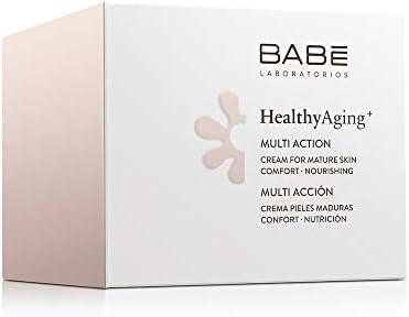 Laboratorios Babe Multi Crema Facial Hidratante, Nutritiva, Antiarrugas, Antioxidante para la Piel Madura, 50 ml