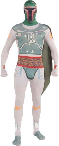 Rubie's Costume Star Wars Boba Fett 2nd Skin Full Body Suit, Multicolor, Large Costume