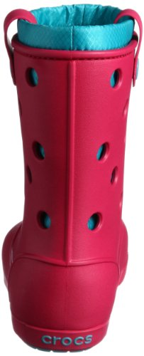 crocs Crocband Airy Boot W - Botas Antideslizantes de material sintético mujer rosa - Pink (Raspberry/Turquoise 6Z2)