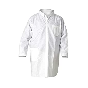 Pack of 25 Thomas Scientific X-Large Kimberly Clark Safety 10039 KLEENGUARD A20 Breathable Particle Protection Lab Coats