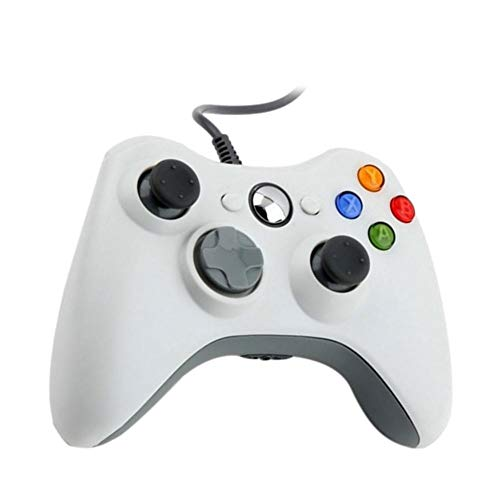 Diamondo Wireless USB Wired Game Controller Bluetooth Gamepad for Microsoft Xbox 360 ()