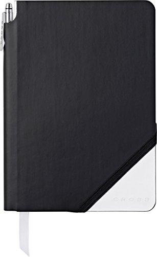 Cross Jot Zone Journal, Black & White, Medium -Lined (AC273-6M)