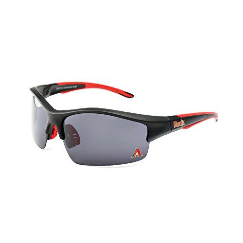 CA Accessories MLB Arizona Diamondbacks Power Hitter Sunglasses, Black