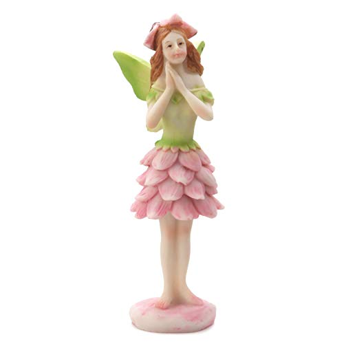 DARICE MI855329SK Yard and Garden Minis, Small Wing Fairy, Resin, 4 x 5 inches, Multicolor ()