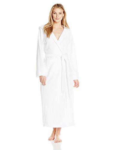 Damen Weiß Hanro White Bademantel 0101 Robe Selection Bx0wqdcISw