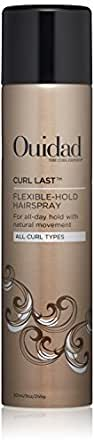 OUIDAD Curl Last Flexible-Hold Hairspray, 9 oz