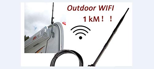 (1000M High Power Outdoor WiFi Antenna USB Adapter Cellular Signal Amplifier 2019 directional Wireless Network Card Receiver.wireless AP and wireless bridges.Security: WEP (64/128/256bit), WPA, WPA-PSK)