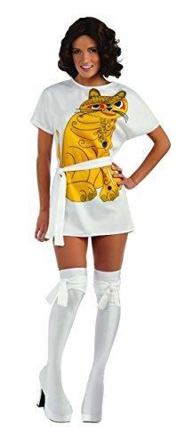 [Abba Anni Costume, Silver Platinum, Small] (Abba Costumes Ladies)