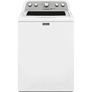 Maytag MVWX655DW Bravos 4.3 Cu. Ft. White Top Load Washer