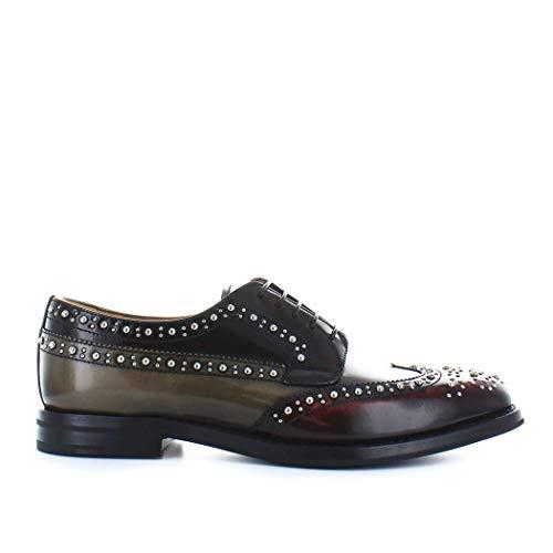 De Church's De01379adrf0ucs Mujer Cordones Cuero Zapatos waH1aAq