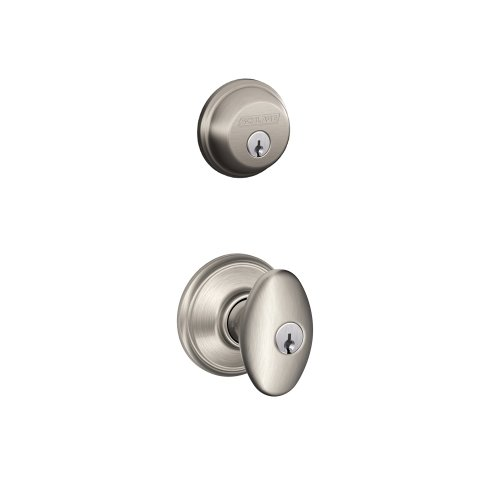 Schlage FB50NVSIE619 SN Siena Entry Combo