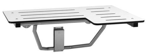 Bobrick B-5181 Reversible Folding Shower Seat, Ivory by Bobrick Washroom Equipment, Inc. ()