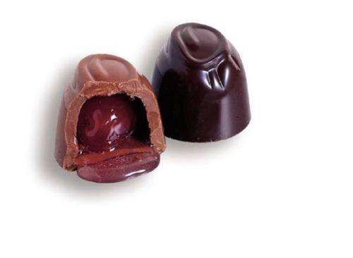 SweetGourmet Sugar Free Dark Chocolate Cordial Cherry (8oz Gift Box)