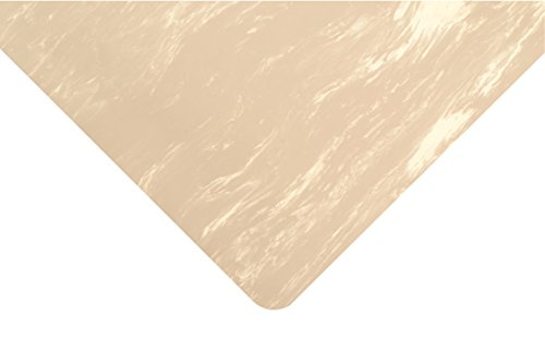 NoTrax Rubber 970 Marble Sof-Tyle Grande Anti-Fatigue Mat, for Dry Areas, 2' Width x 3' Length x 1