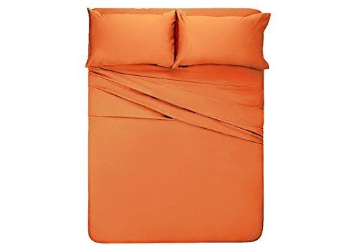 orange full size sheets - 3