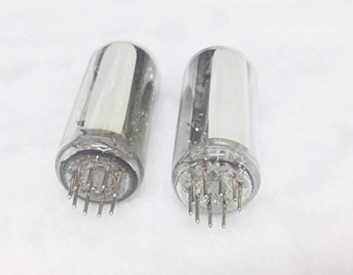 2 pcs NOS Magic Eye 6E2 EM87 Vacuum Tube for HIFI Audio ()