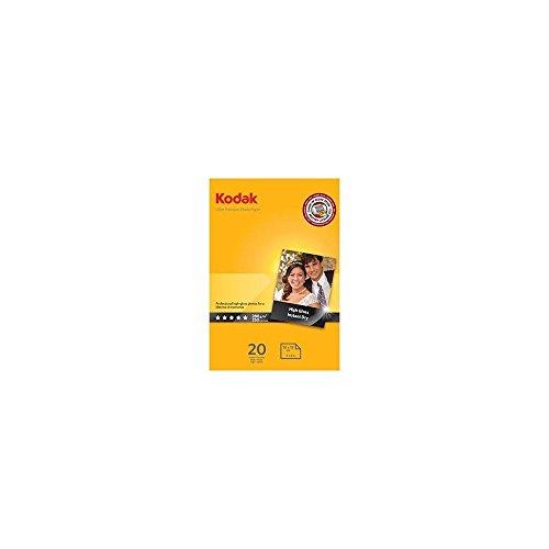 Kodak Premium Inkjet Photo Paper A6 10 x 15 cm 280 g 20 Sheets