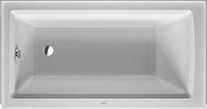 Superior Duravit 700354000000090 Bathtub Architec Drain Left With Integrated Panel,  60u0026quot; X 32u0026quot;,