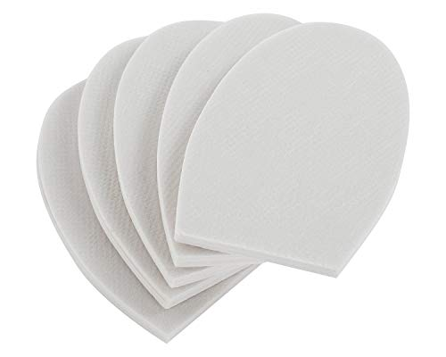 5 Pair of Half Insoles - Shoe Filler, Half-Sizer, Unisex Shoe Inserts to Make Big Shoes Fit a Half Size Smaller (Medium)