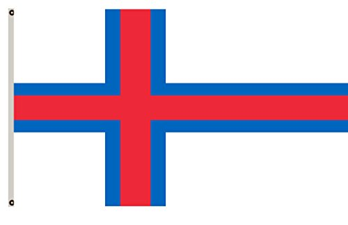 Fyon Denmark banner the Faroe Islands flag 2x3ft