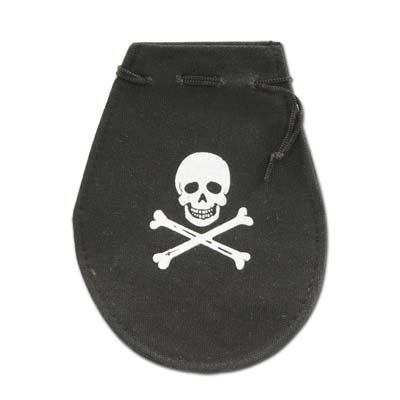 Pirate Pouch Party Accessory (1 count) (1/Pkg)