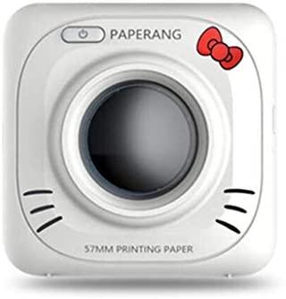 Impresora PortáTil Inalámbrica Bluetooth 4.0 de Youran Impresora Fotográfica Conveniente Laber Maker para Android/iOS [200 dpi]
