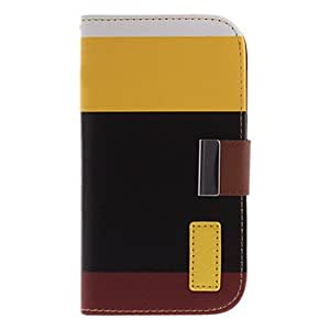 YULIN Wallet PU Leather Case Card Holder Flip Case Cover for Samsung Galaxy S3 i9300 , Black