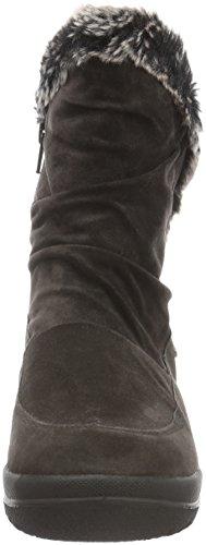 Gabor Shoes Comfort Basic, Botines para Mujer Gris (Dark-Grey Webl.)