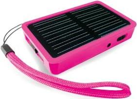 ソーラーマルチチャージャー+マイクロSDカードリーダー ピンク