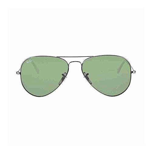 Ray-Ban Classic Aviator Sunglasses, Gunmetal/Green Classic by Ray-Ban