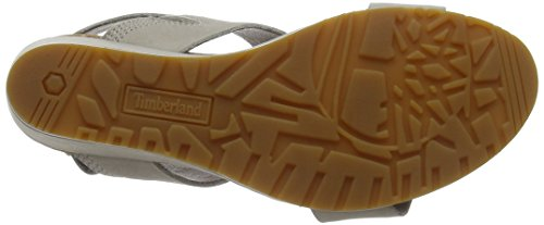 Timberland Capri Sunset Wedge, Ciabatte Donna Marrone (Simply Taupe Naturebuck L47)