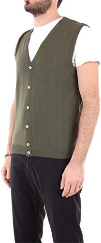 Heritage Luxury Fashion Uomo 0155K20GREEN Verde Cotone Gilet   Stagione Outlet  AHqEo