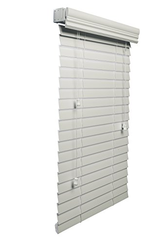 Lotus & Windoware 2-Inch Faux Wood Blind, 22 by 36-Inch, White