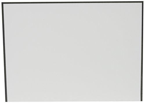 (Crane & Co. Black Bordered Pearl White Note (CF1436) )