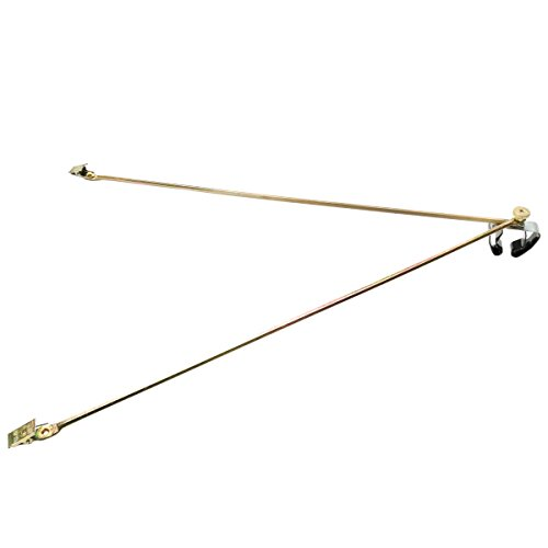 (Official Honor Brass Flag Spreader for Indoor Flags (Fits 1 in. To 1-1/4 in. dia. Poles))