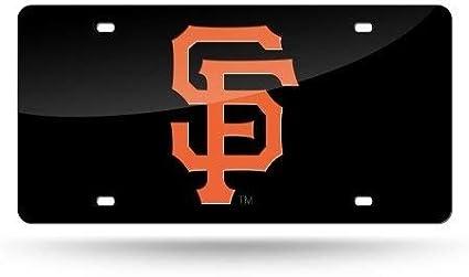 GIANTS San Francisco MLB Color Laser Cut Auto Tag