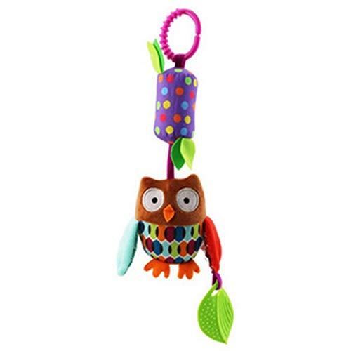 RoadRoma Beb/é Ni/ños Sonajeros Juguetes Cochecito Cuna Colgante Suave Peluches Animal Doll Bell