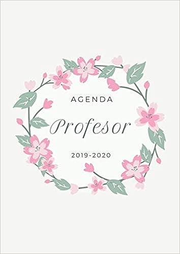 Agenda Profesor 2019-2020: Agenda para Profesores y ...