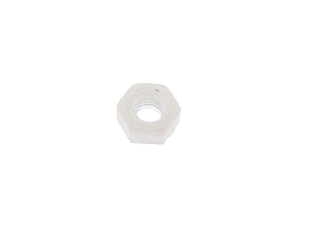 Pack of 50 M5 Plastic Nylon Hex Nut