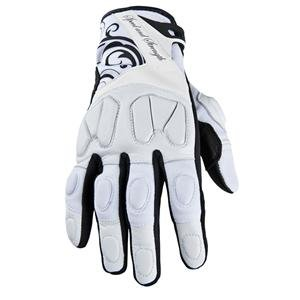Speed and Strength Women's Cat Out'a Hell Gloves - X-Large/White