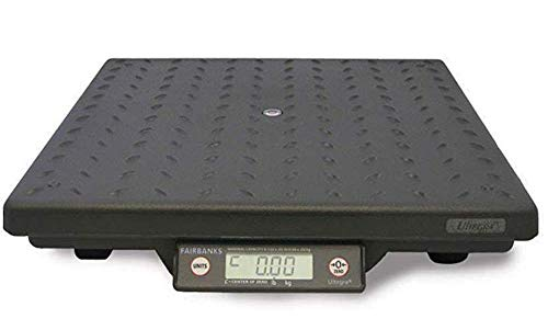 Fairbanks Ultegra Flat Top 29824 Parcel Shipping Scale, 14'' Length, 14'' Width, 2.4'' Height, 150 lbs Capacity by Fairbanks Scales (Image #1)