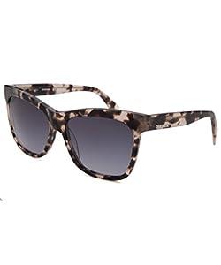 Diesel Eyewear Unisex Square Sunglasses (Tortoise Translucent)