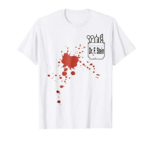 Dr. F. Stein Frankenstein Halloween Costume T Shirt Tee