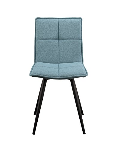 World Modern Design HK-1011-26 JoJo Dining Chair, Set of 2, Null, Tiffany - Tiffany Hk