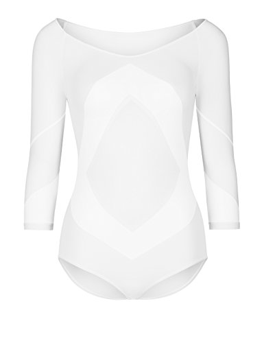 Wolford Damen Rhomb Body White