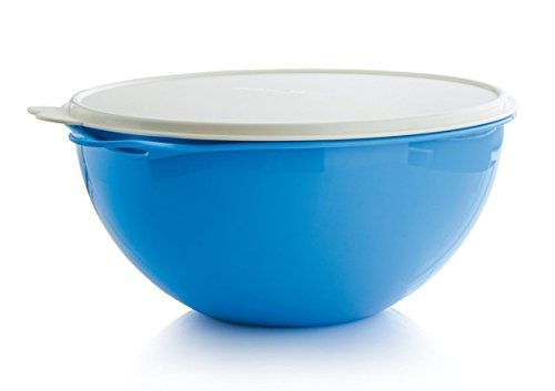 Tupperware Thatsa Bowl 32-cup in Rain Drop Blue by Tupperware
