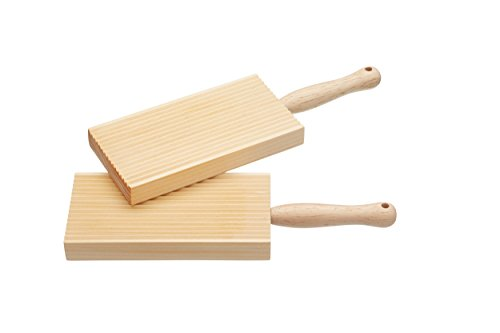 Kitchen Craft Home Made Wooden Butter Paddles / Gnocchi B...