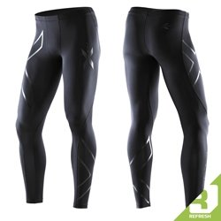 2XU Men's Recovery Compression Tights, Black/Black, XX-Large by 2XU (Image #1)