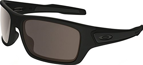 Oakley Boys' Turbine Xs Rectangular Sunglasses, Matte Black, 57.01 - Kids Oakley Sunglasses